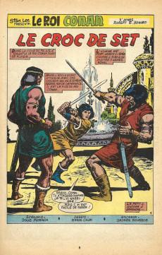 Extrait de Conan (Super Spécial) (Mon journal) -1- King Conan