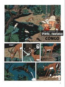 Extrait de Spirou et Fantasio (Une aventure de.../Le Spirou de...) -11TL- Le Maître des hosties noires