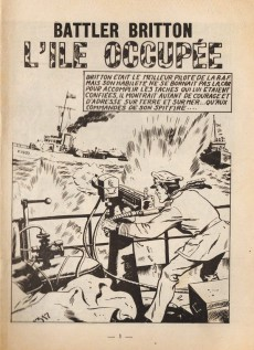 Extrait de Battler Britton -266- L'île occupée - Camouflage - Coûte que coûte