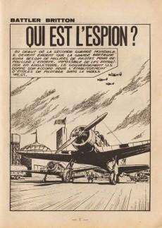 Extrait de Battler Britton -184- Qui est l'espion ? - Les cornemuseurs