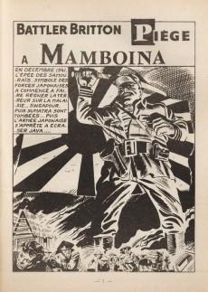 Extrait de Battler Britton -319- Piège à Mamboina - Poursuite dans le désert - Victoire posthume - le cercle infernal