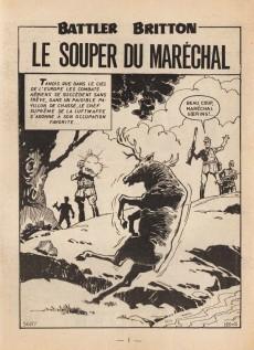 Extrait de Battler Britton -269- Le souper du maréchal - L'aide Naga - Un acte héroïque