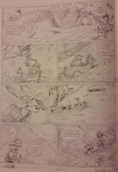 Extrait de Spirou et Fantasio -55TT- La colère du Marsupilami