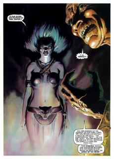 Extrait de Marvel Graphic Novel (Marvel comics - 1982) -21- Marada the She-Wolf