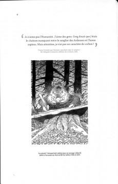 Extrait de (AUT) Hermann - Hermann, L'encre noire du Sanglier des Ardennes