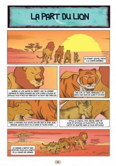 Extrait de Contes arabes en bandes dessinées