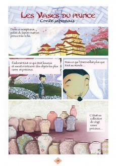 Extrait de Contes du monde en bandes dessinées -a- Contes asiatiques en bandes dessinées