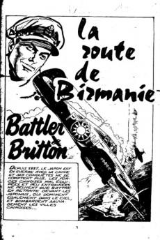 Extrait de Battler Britton -346- La route de birmanie