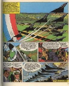 Extrait de Tanguy et Laverdure -8c1979- Pirates du ciel