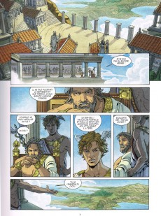 Extrait de Héraclès -1-  1/3 La jeunesse du héros
