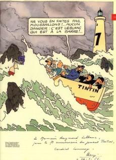 Extrait de Tintin - Divers -63TL- Tintin et la mer - historia hs