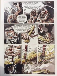 Extrait de La vallée Néandertal -1- Main de pierre