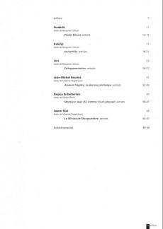 Extrait de (Catalogue) Prix Töpffer de la ville de Genève -5- 2001