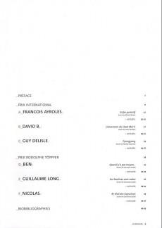 Extrait de (Catalogue) Prix Töpffer de la ville de Genève -8- 2003