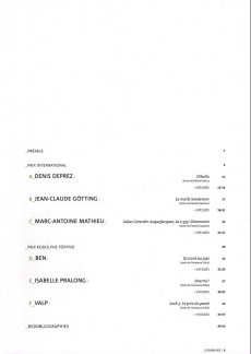 Extrait de (Catalogue) Prix Töpffer de la ville de Genève -9- 2004