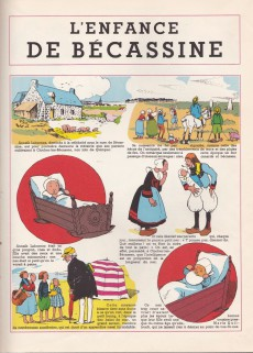 Extrait de Bécassine -1c64- L'enfance de Bécassine