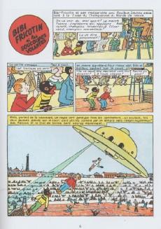 Extrait de Bibi Fricotin (Hachette - la collection) -1- Bibi Fricotin et les soucoupes volantes