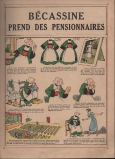 Extrait de Bécassine -20a51- Bécassine prend des pensionnaires
