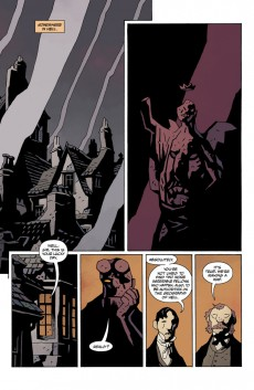 Extrait de Hellboy in Hell (2012) -6- The Death Card