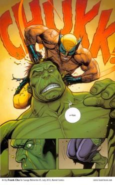 Extrait de Savage Wolverine - Sauvage