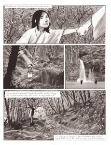 Extrait de Geisha, ou le jeu du shamisen -1- Première partie