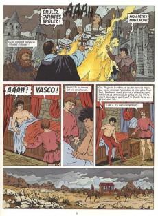 Extrait de Vasco -8a2000- Le chemin de montségur