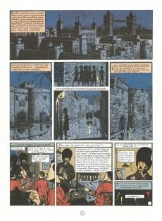 Extrait de Blake et Mortimer (Historique) -5TL2- La Marque Jaune
