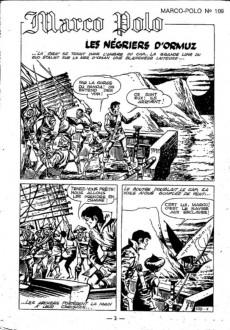 Extrait de Marco Polo (Dorian, puis Marco Polo) (Mon Journal) -109- Les négriers d'ormuz