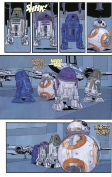 Extrait de Star Wars - Poe Dameron -2- Sous les verrous
