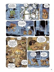 Extrait de Archibald (Kim) -3- Opération trolls !