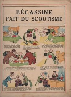 Extrait de Bécassine -17c1951- Bécassine fait du scoutisme