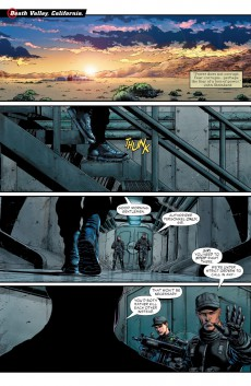 Extrait de Justice League vs. Suicide Squad (2017) -1- Chapter one