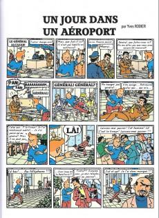 Extrait de Tintin - Pastiches, parodies & pirates -38a17- Un jour dans un aéroport