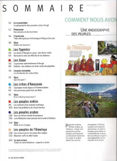 Extrait de Tintin - Divers -Géo12H- Les peuples du monde vus par le héros d'Hergé... et leur réalité aujourd'hui