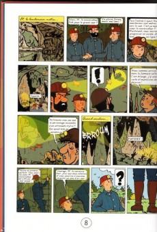 Extrait de Tintin - Pastiches, parodies & pirates - L'inconnu de Lascaux