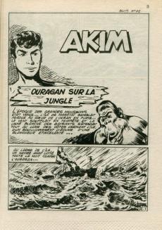 Extrait de Akim (2e série) -72- Ouragan sur la jungle