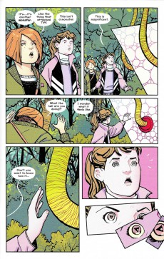 Extrait de Paper Girls (Image comics - 2015) -13- Paper Girls