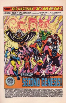 Extrait de True Believers: Giant-Size X-Men (2017) -1- Second genesis!
