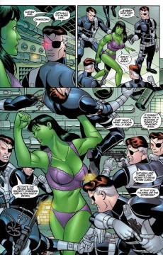 Extrait de She-Hulk (2005) -17- Planet Without A Hulk: Part 3 of 4