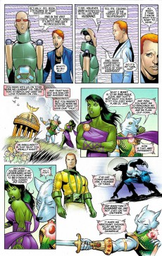 Extrait de She-Hulk (2005) -20- The Clock Is Ticking