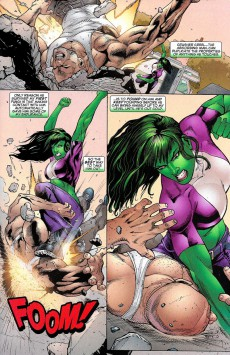 Extrait de She-Hulk (2005) -22A- Jaded : Episode 1