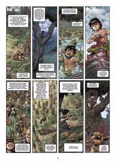 Extrait de Elfes -17- Le sang noir des Sylvains