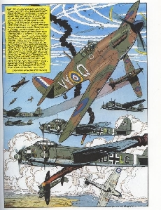 Extrait de Biggles -6- Squadron Biggles