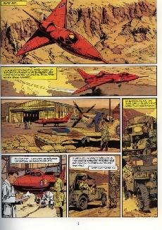 Extrait de Biggles -7- Le dernier Zeppelin