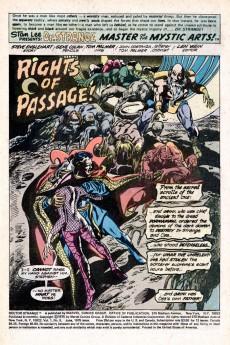 Extrait de Doctor Strange (1974) -8- Rites of Passage... Rites of Death!