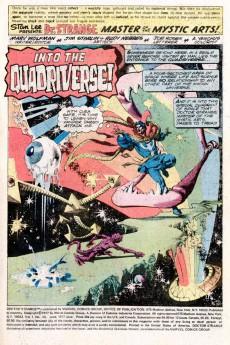 Extrait de Doctor Strange (1974) -23- Into The Quadriverse!