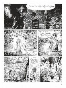 Extrait de Tendre Violette (N&B) -INT01- Volume 1