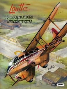 Extrait de Biggles présente... -2- 18 illustrations aéronautiques