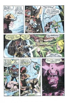 Extrait de Conan the Barbarian Vol 1 (Marvel - 1970) -AN01- Lair of the beast-men! - the tower of the elephant!