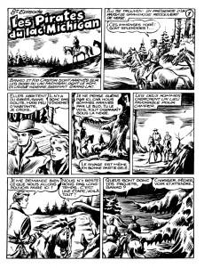 Extrait de Banko (1e Série - Remparts) -8- Les pirates du lac Michigan